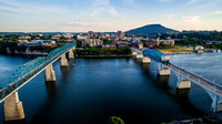 Aerial view of Chattanooga, TN