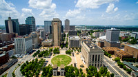Aerial view of Nashville, TN