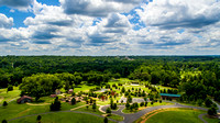 Aerial Views of Joyner Park in Wake Forest, NC