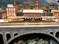 Model Train Bridge